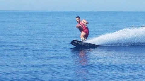 Waterski in Nea Moudania