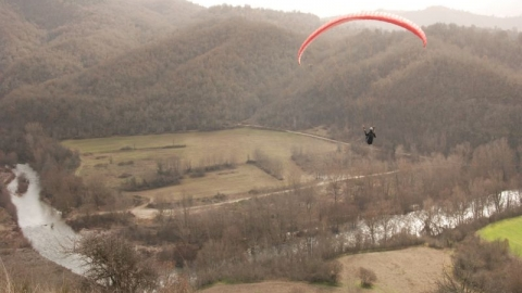 Paragliding Παρανέστι Δράμα