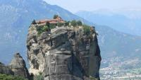Hiking and Climbing Scramble Meteora