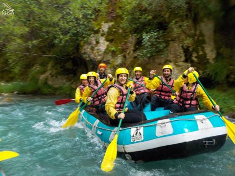 Rafting in Lousios