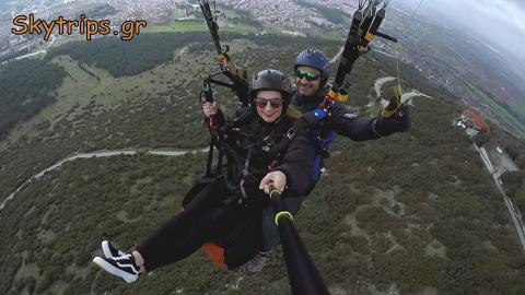 Paragliding in Drama