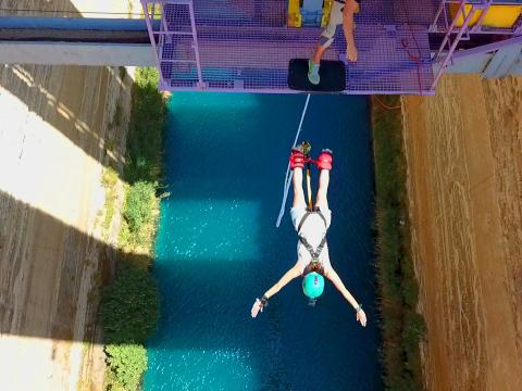 Bungee Jumping Greece Corinth Canal