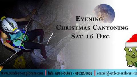 Outdoor Explorers‎Christmas_Canyοning