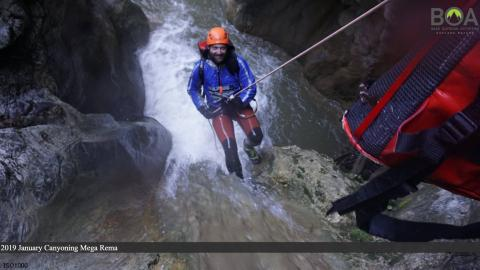 Canyoning all over Greece