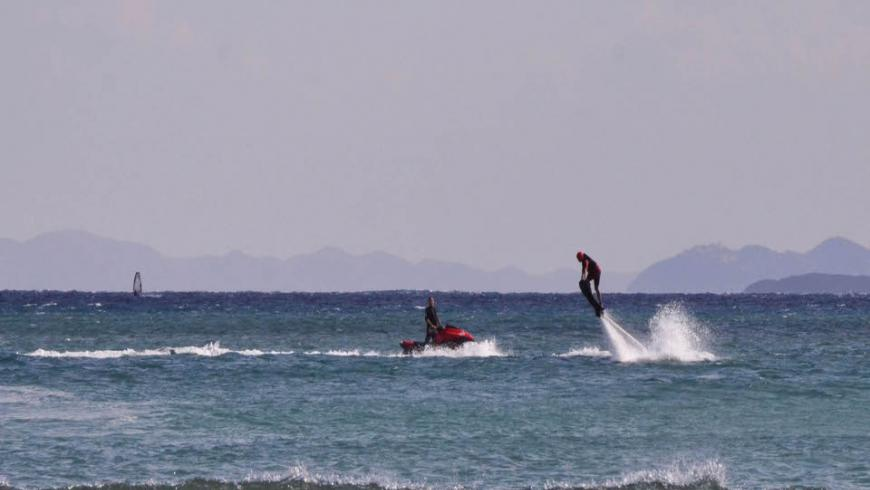 flyboard mylos beach
