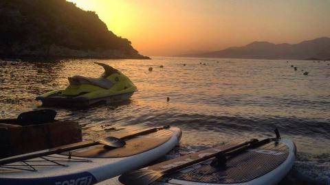 SUP in Naxos