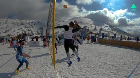 Snow Volley Mainalo Greece