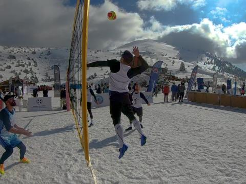 Snow Volley 2019 Mainalo Greece