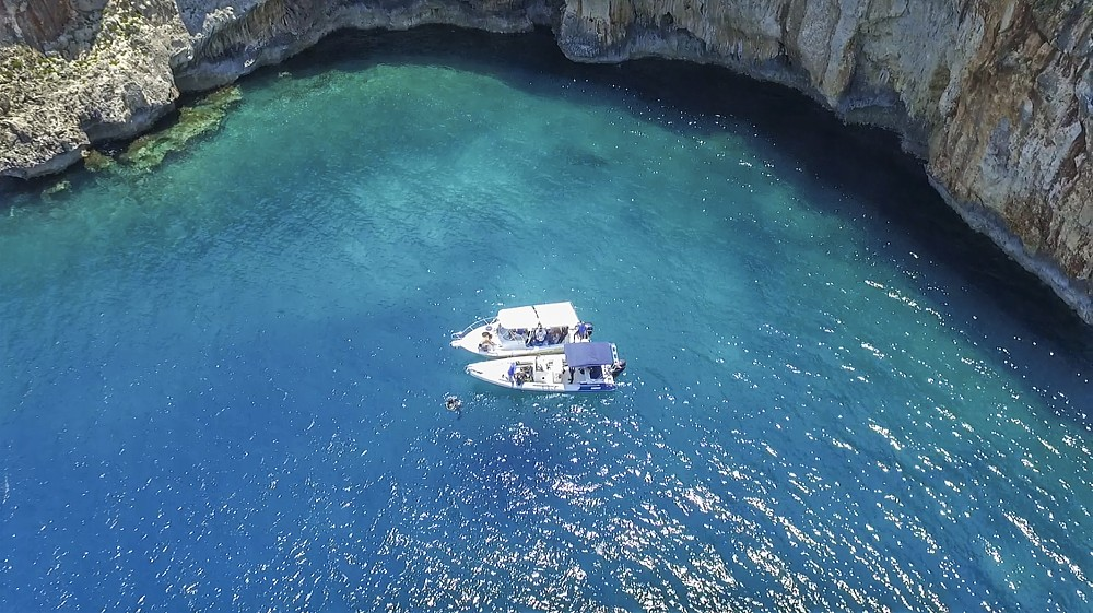 Boat Trip with Guided Snorkeling Chania