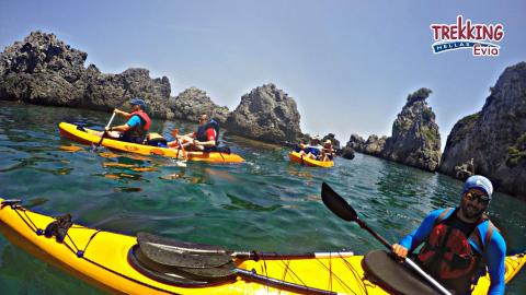 Sea Kayak & Snorkeling in Agia Anna