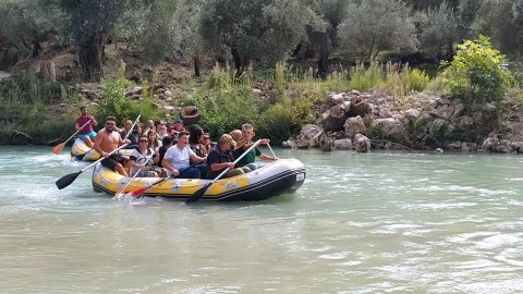 Rafting River Acheron Greece axerontas ποταμος