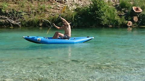 Acheron kayak canoe acherontas magic river greece ποταμος