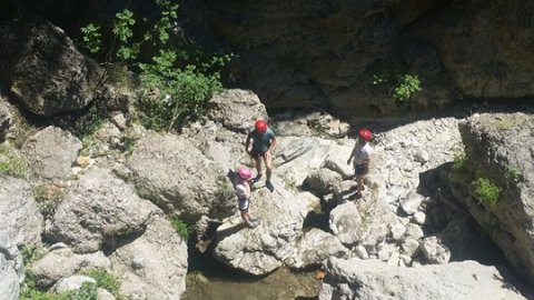 Canyoning Τζουμέρκα Φαράγγι Παπαπήδημα