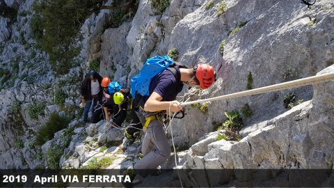 Via Ferrata in Parnitha