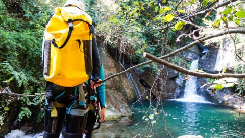 Canyoning & Via ferrata in Pelion