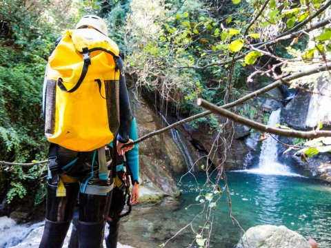 Canyoning & Via ferrata στο Πήλιο