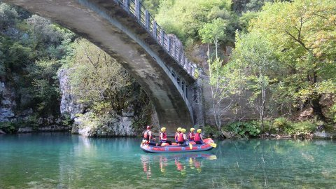 Rafting in Voidomatis River