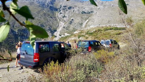 4x4 Offroad  jeep Safari North Corfu
