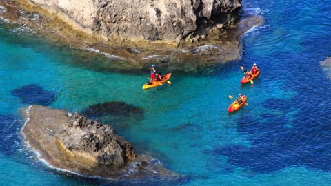 Sea kayak between Parga and Preveza