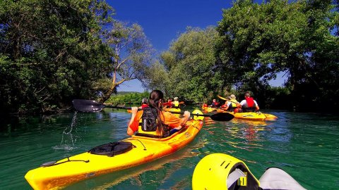 Kayaking Acheron River, Nekromanteio Tour
