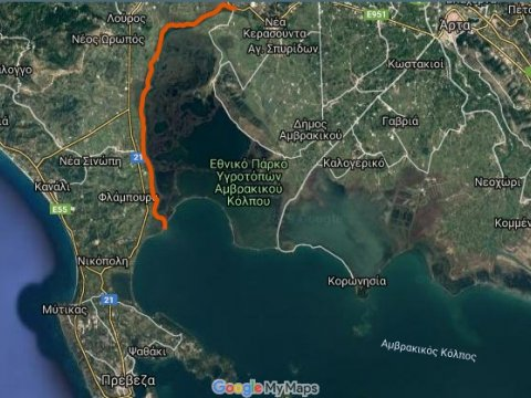 Louros River, Κayaking – Βirdwatching into the wild greece preveza 9