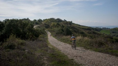 Mountain Biking: Ancient Nikopolis near Preveza