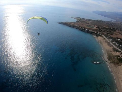 Paragliding Paratrike chania Crete Power FLY greece