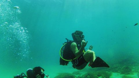 Try Scuba Diving in Thassos