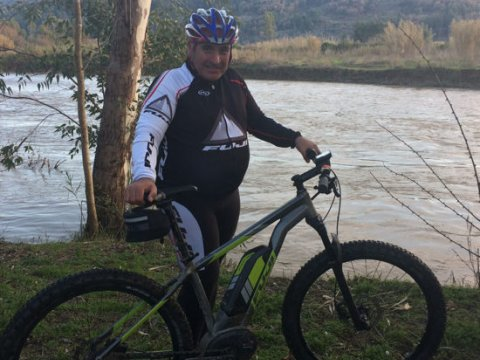 Cycling in Olympia greece ποδηλασια greco paths