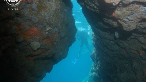 Try Scuba Diving in Skyros