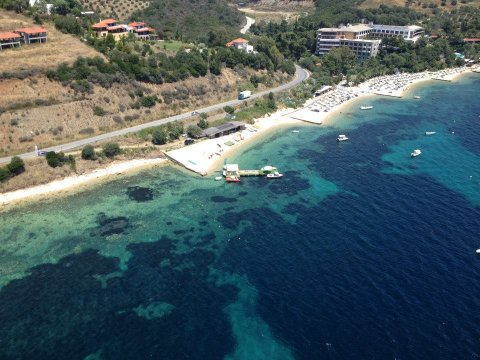 Water Sports Centre Roda chalkidiki greece windsurf lessons