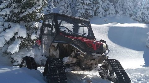 Snow Buggy Tour at Ziria Mountain