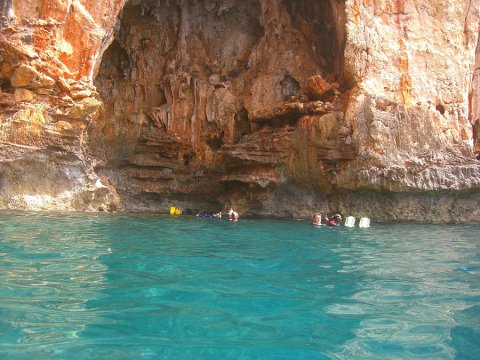 Boat Trip Guided Snorkeling Chania greece.jpg13