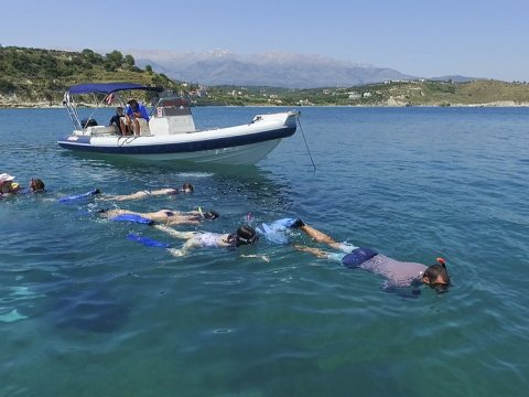 Boat Trip Guided Snorkeling Chania greece.jpg7