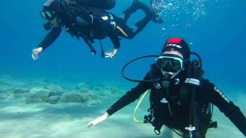 Try Scuba Diving Folegandros