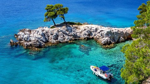 Boat Trip with Snorkeling Skopelos