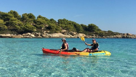 Full Day Sea Kayak Trip Halkidiki