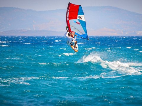 Windsurf Rentals Kos anemos Greece watersports Windsurfing