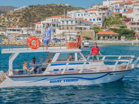Boat Tour Andros Greece Σκαφος εκδρομη