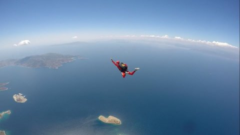 Skydiving near Athens Attica