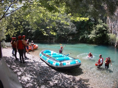 voidomatis rafting  Greece Alpine Zone aristi