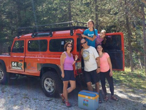 4x4 Jeep Tour Off Road Safari Pindos Valia Kalnta Greece alpine zone
