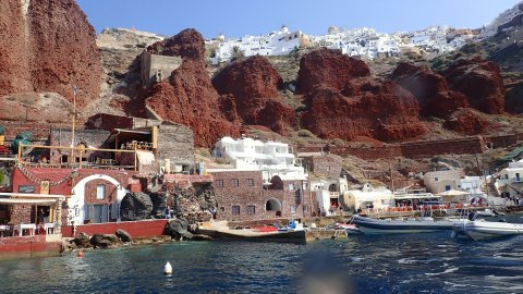 Private Boat Tours Santorini