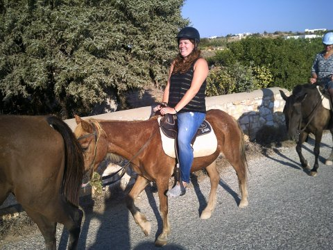 Horse Riding Tour Paros Kokou Greece ιππασια αλογα sunset.jpg10
