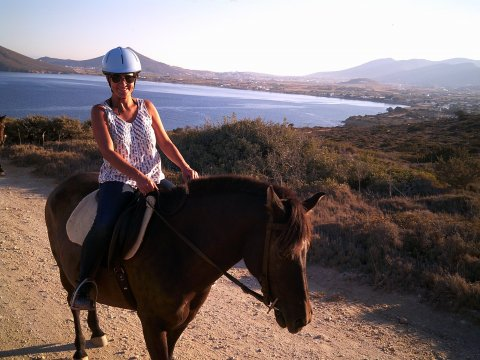 Horse Riding Tour Paros Kokou Greece ιππασια αλογα sunset.jpg9