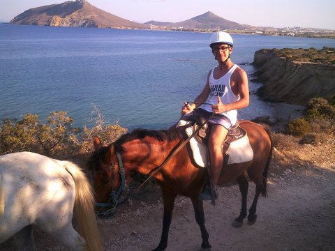 Horse Riding Tour Paros Kokou Greece ιππασια αλογα sunset.jpg8