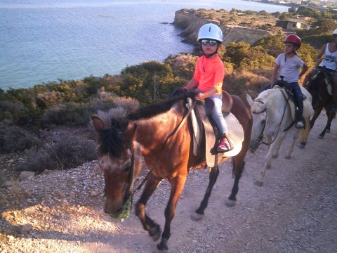 Horse Riding Tour Paros Kokou Greece ιππασια αλογα sunset.jpg4