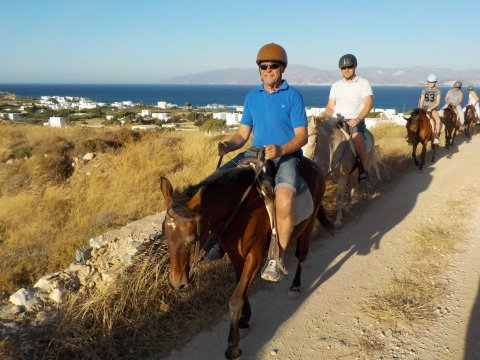 Horse Riding Tour Paros Kokou Greece ιππασια αλογα sunset.jpg3
