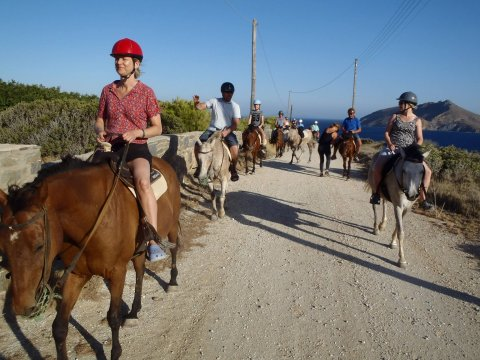 Horse Riding Tour Paros Kokou Greece ιππασια αλογα sunset.jpg2
