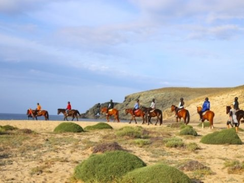 Mykonos Horse Riding Tour Greece Ιππασια Αλογα